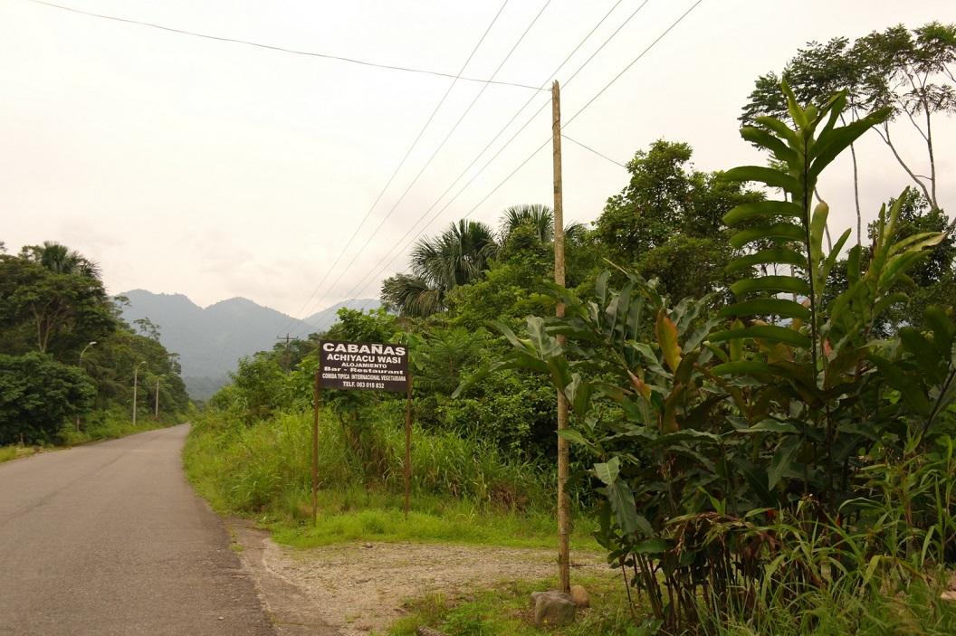 01 Cabanas Achiyacu Wasi, in Las Palmas (Napo Province), waar we een paar dagen gaan kamperen