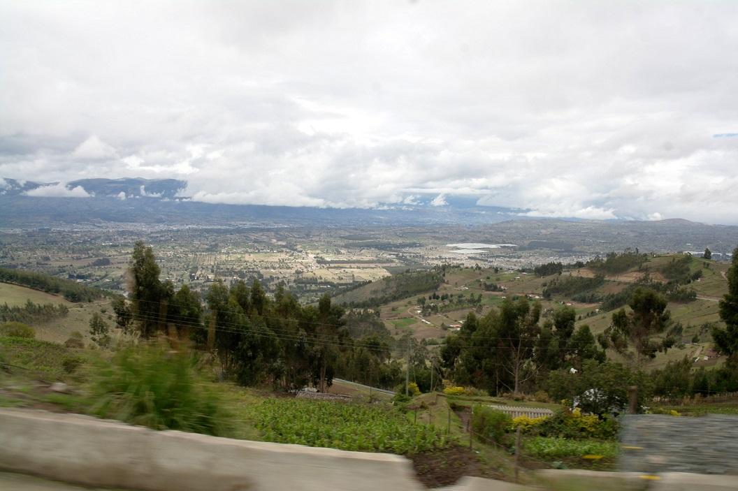 35 route E 30 Van Pujili naar Latacunga