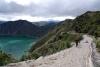 24 wandelpad naar het vulkanische kratermeer