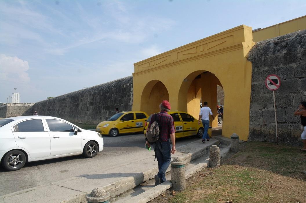 31 Poort naar het Historische Centrum van Cartagena