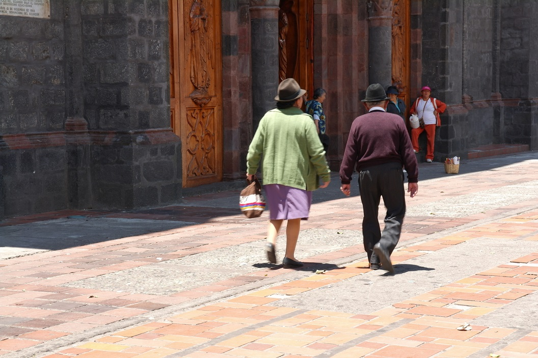 27 op weg naar de Basalica of Nuestra Senora de Agua Santa