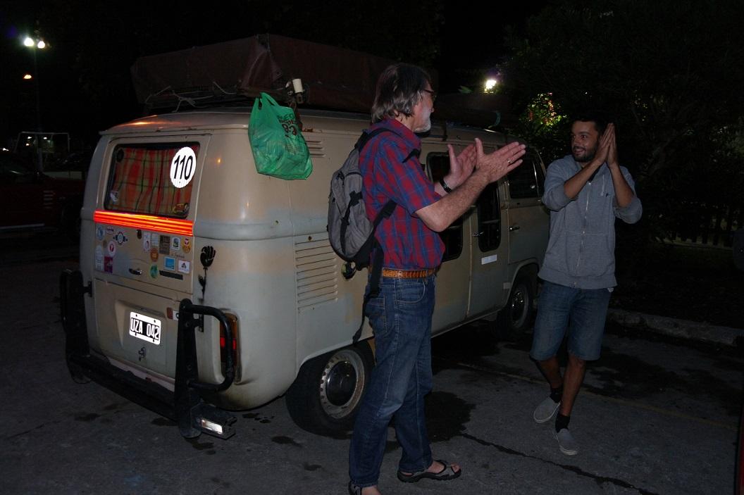 32 spontane ontmoeting met Facundo Nicolas, Argentijnse muzikant reizend door Zuid Amerika