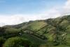 49 prachtige landschap met haar vele vruchtbare velden route E35, op weg naar Tulcan de grensplaats met Colombia