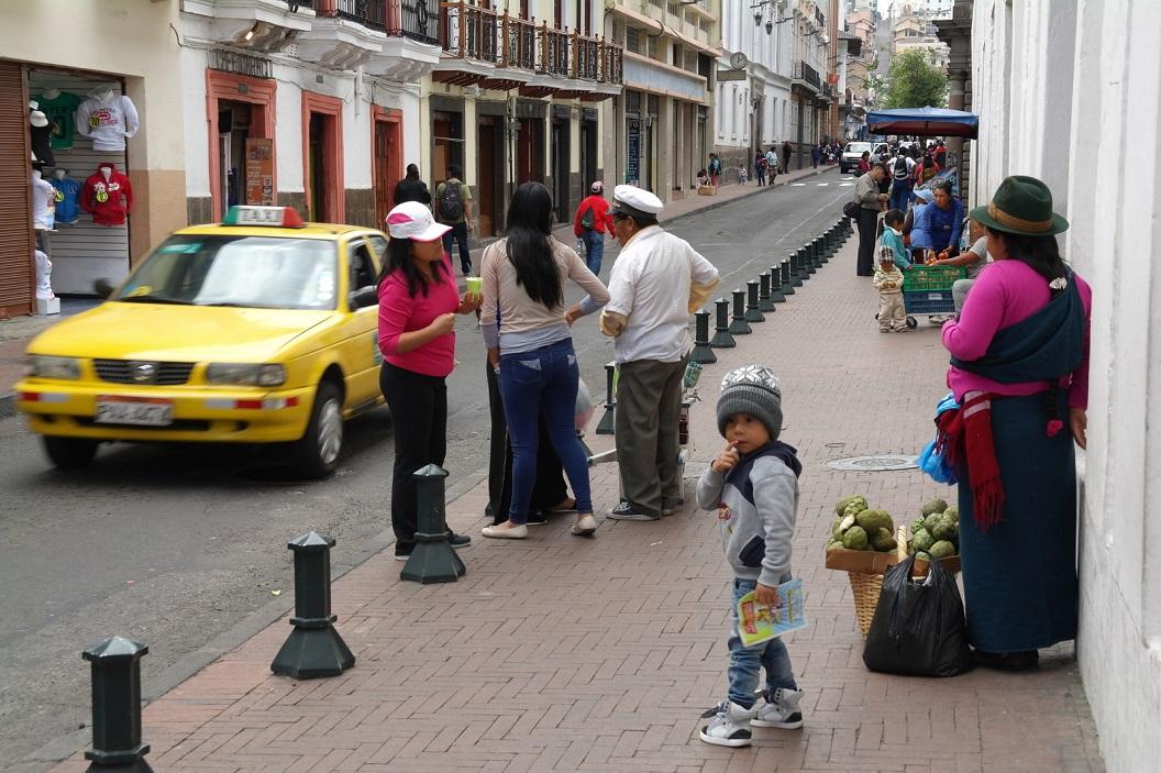 12 in de straten rondom Plaza Grande