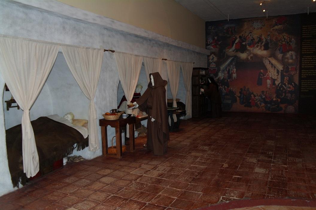 29 Museo de La Cuidad in het voormalig Hospital San Juan de Dios in teken van jubileum 450 jaar