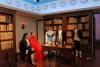 09 Museo Alberto Mena Caamano, de eerste persoon met indiaans bloed die verschillende studies heeft gedaan, aan zijn rechterhand Mw Manualla Saenz die zich inzette voor de onafhankelijkheid