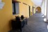 27 exposite keuken interieur in de hal van Museo de La Cuidad. Het voormalig Hospital San Juan de Dios in teken van jubileum 450 jaar