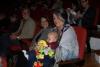 35 samen met Jimena, Dante en vriendin Katja in het theater Casa de la Musica