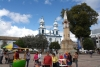 01 Plaza La Pola met Catedral Ipiales
