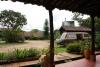 31 in San Agustin vinden we een mooie plek om te kamperen, Hacienda Anacaona, een voormalige boerderij