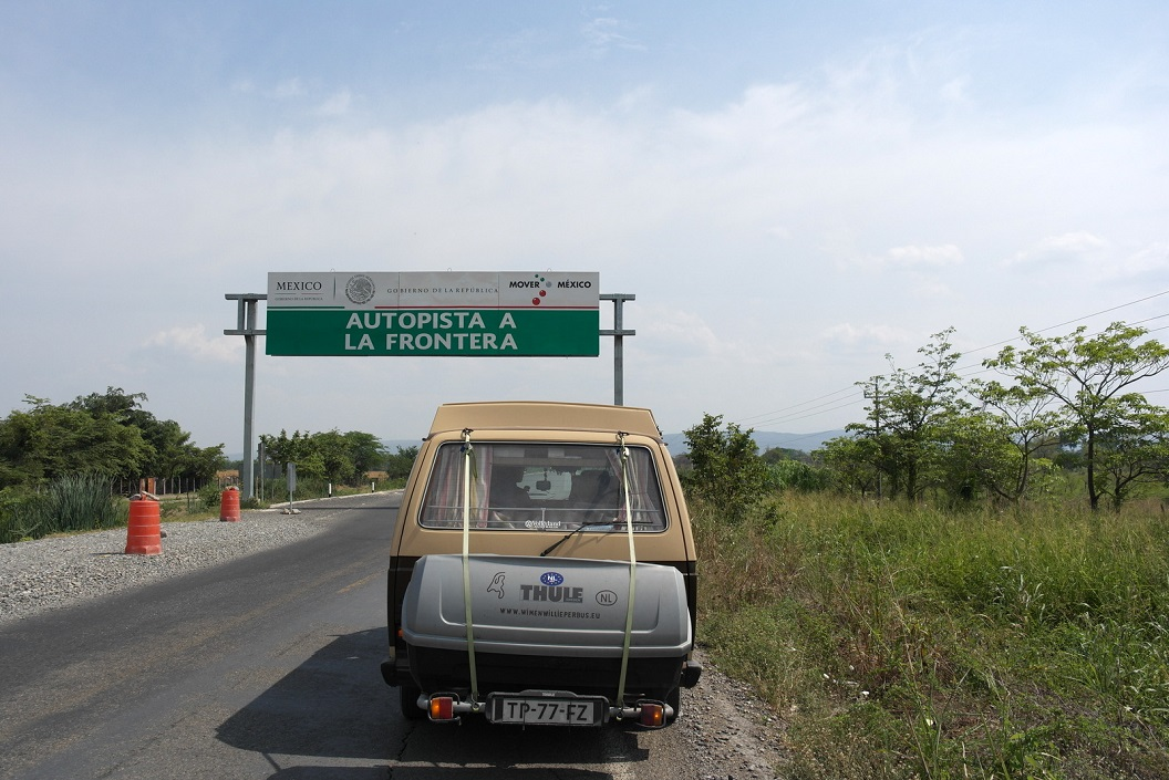 02 we zijn in Mexico! Autopista a La Frontera, Route 190 SAM_6222