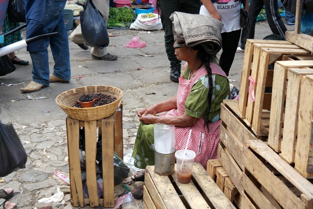 07 bessenverkoopster op de zaterdagmarkt in San Cristobal SAM_6283