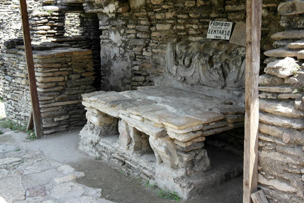 21 troon, zitplaats van de heerser van Tonina De Maya´s worden gerekend tot de grootste beschavingen ter wereld, ook al hadden ze geen lastdieren en metalen gereedschap