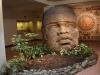 17 cabeza monumental olmeca (replica van latex)