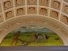 02 Decoratie in Honor Hall,  symbool van de boer die het maagdelijke land bewerkt