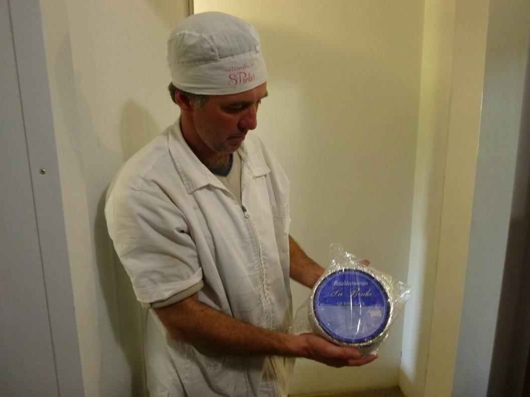 05 Queso Azul, blauwe kaas is het product waarin zij zijn gespecialiseerd
