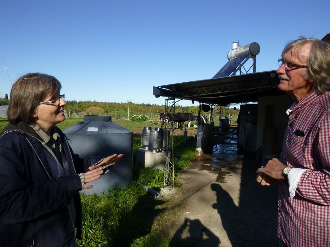 15 Raquel, directeur (ing agr) vertelt over de opbouw en historie van Centro Emmanuel