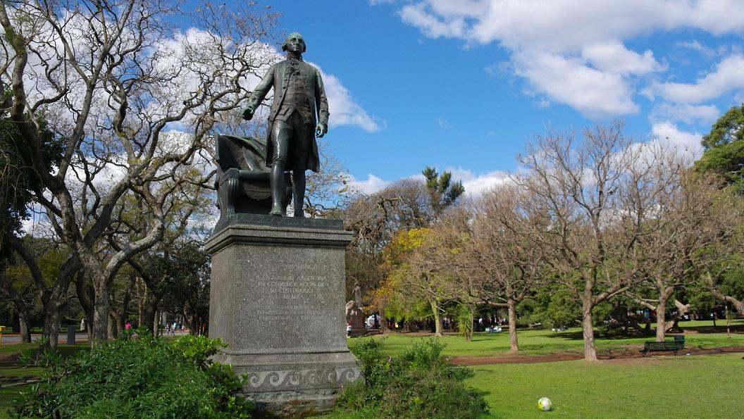 22 Standbeeld van George Washington