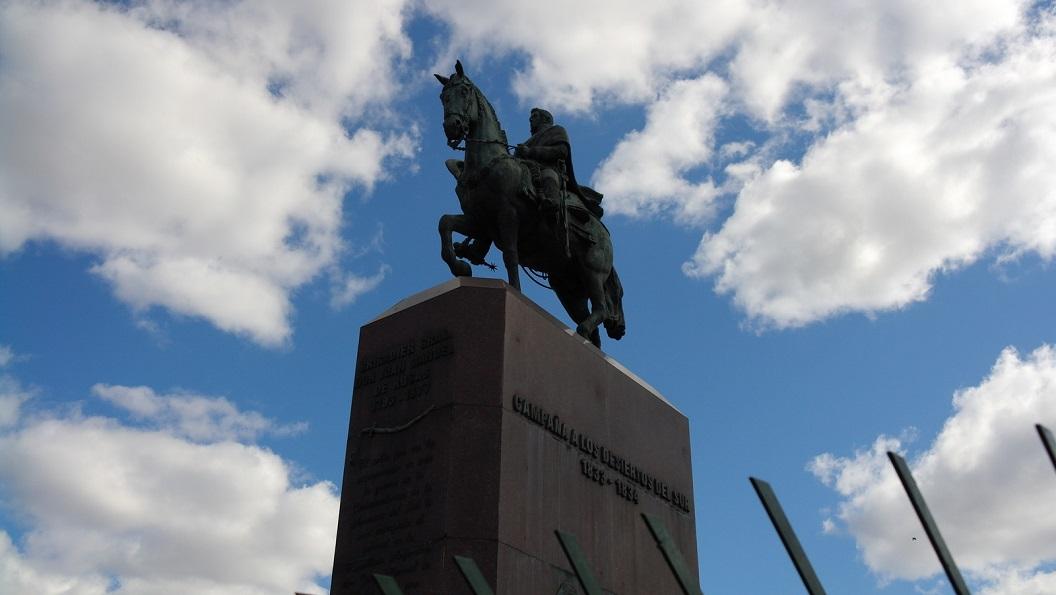 23 Brigadier Gral Don Juan Manuel de Roses 1793-1877, op wiens landgoed de Rozentuin is aangeplant