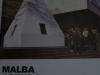 13 Bij de ingang van Museum Malba, de spits van de Obelisk. Het mysterie van de Obelisk die haar spits mist. La democracia del simbolo door Leandro Erlich.