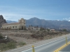 20 route 52 op weg naar Salinas Grandes, kerkje onderweg
