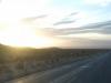 34 we naderen Salinas Grandes, de grootste zoutvlakte van Argentinie