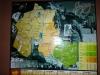38 Plaat aan de muur van restaurantje in dorpje Tres Pozes waarnaast we vannacht zullen slapen.