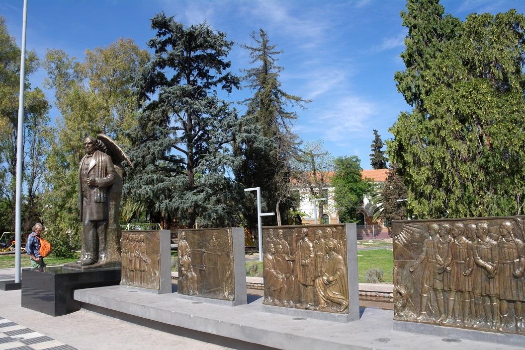 17 Domingo Faustino Sarmiento, een van de belangrijke grondleggers van Argentinie