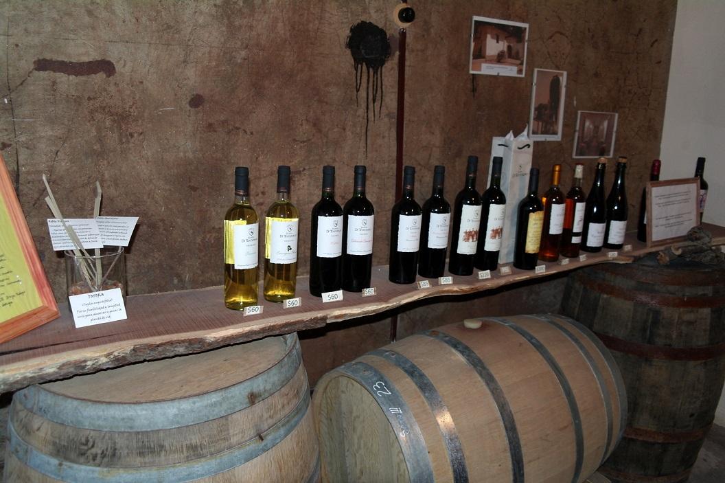 30 de  wijnen van de Familia Di Tommaso
