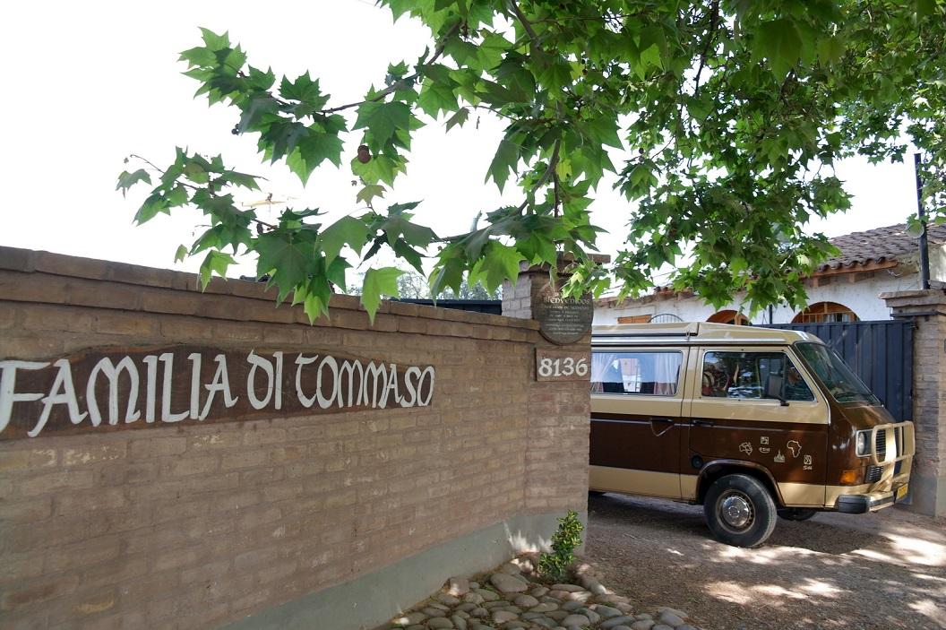 35 weer op weg, terug naar de stad Mendoza