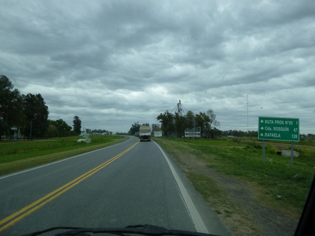 04 we rijden via Rafaela, route 65 richting Salta