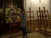 06 prachtig schilderij als voorbeeld bij de verkoop van schildersezels