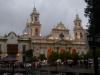 27 Catedral Basilica de Salta, verlicht in de late namiddag