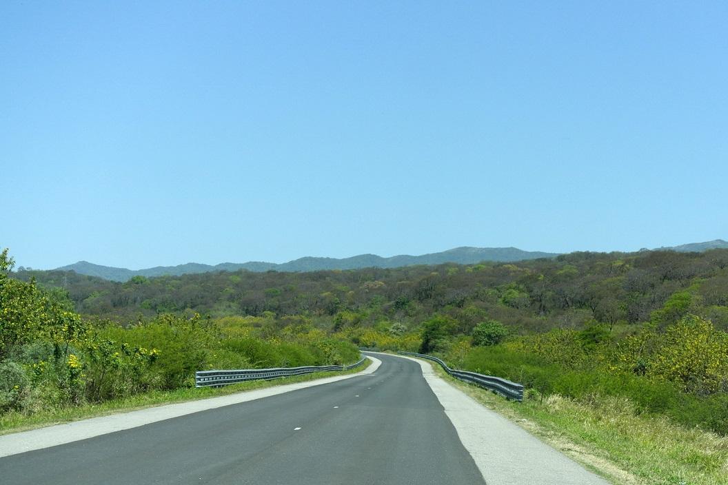 07 de weg weer voor onszelf, route 150 op weg naar Los Baldecitos
