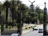 18 arriveren 's avonds in Mendoza bij Parque General San Martin. De stadscamping daarbinnen ligt er helaas verlaten bij
