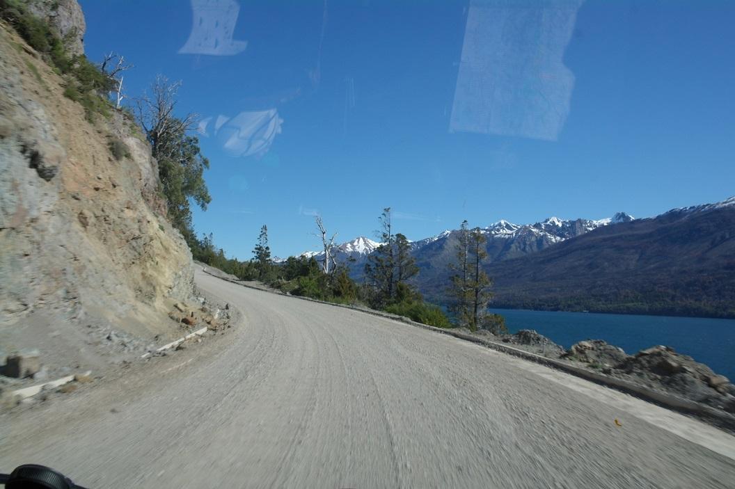 06 route 71, de route door het Parque Nacional Los Alerces