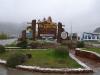 24 Nog even terugblik, Bievenidos El Chalten - Welkom El Chalten,  vertrek in de regen.
