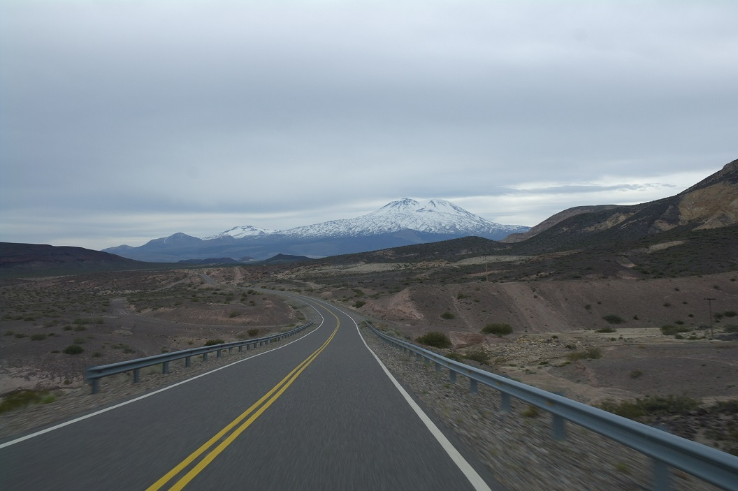 vanuit Barrancas weer op weg, route 40 richting Traful