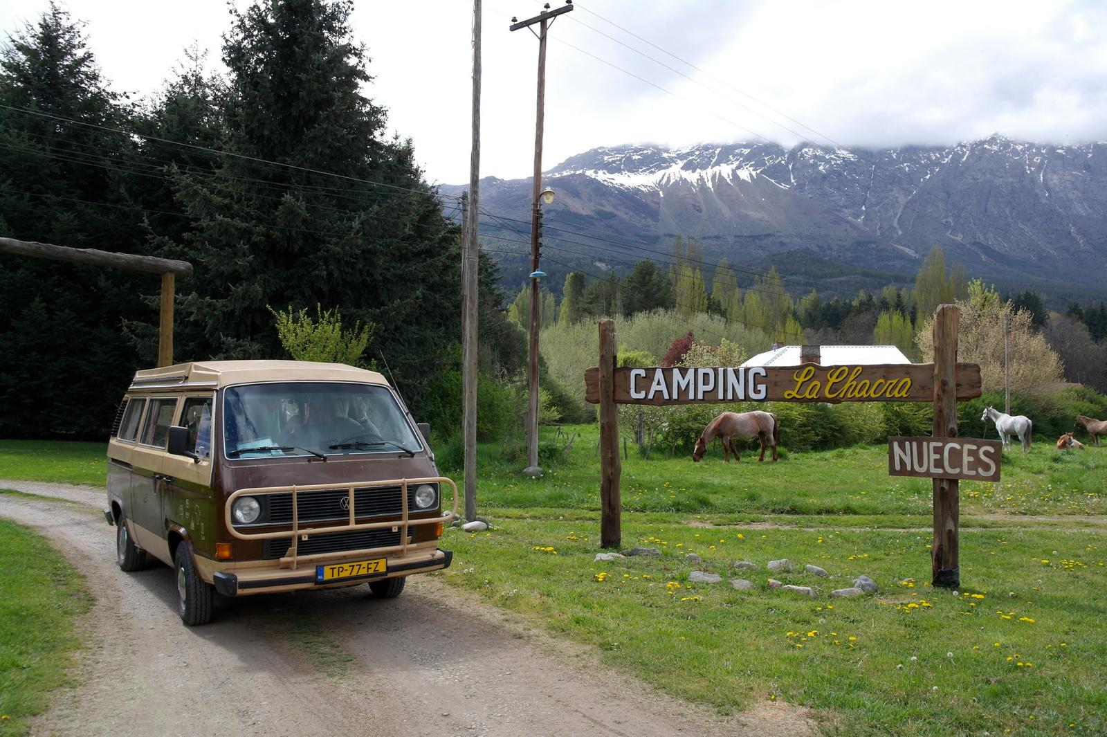20 Camping La Chacra waar we kamperen