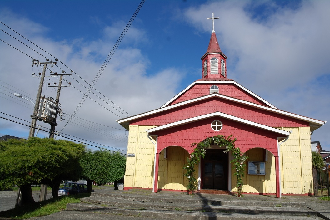 36 Iglesia de Ancud, authentiek houten kerkje in Ancud