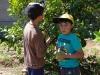 20 Martin en Nicolas plukken citroenen uit eigen tuin