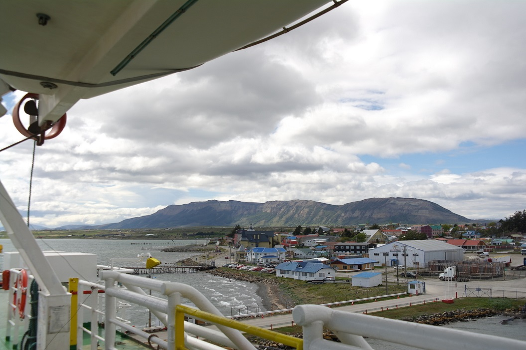 11 zicht op de haven, bijna klaar voor vertrek