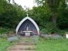 12 Gruta de la Virgin de Lourdes, kapelletje aan de voet van het weggetje naar de Camping La Gruta