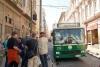 22 de troles van Valparaiso zijn uitgegroeid tot kenmerk van de stad. De bussen uit de jaren vijftig van de vorige eeuw doorkruisen nog altijd de straten