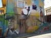 46 de traditionele Chileense muzikant mag niet ontbreken in het straatbeeld van Valparaiso