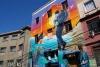 73 cultureel en kleurrijk straatbeeld Valparaiso