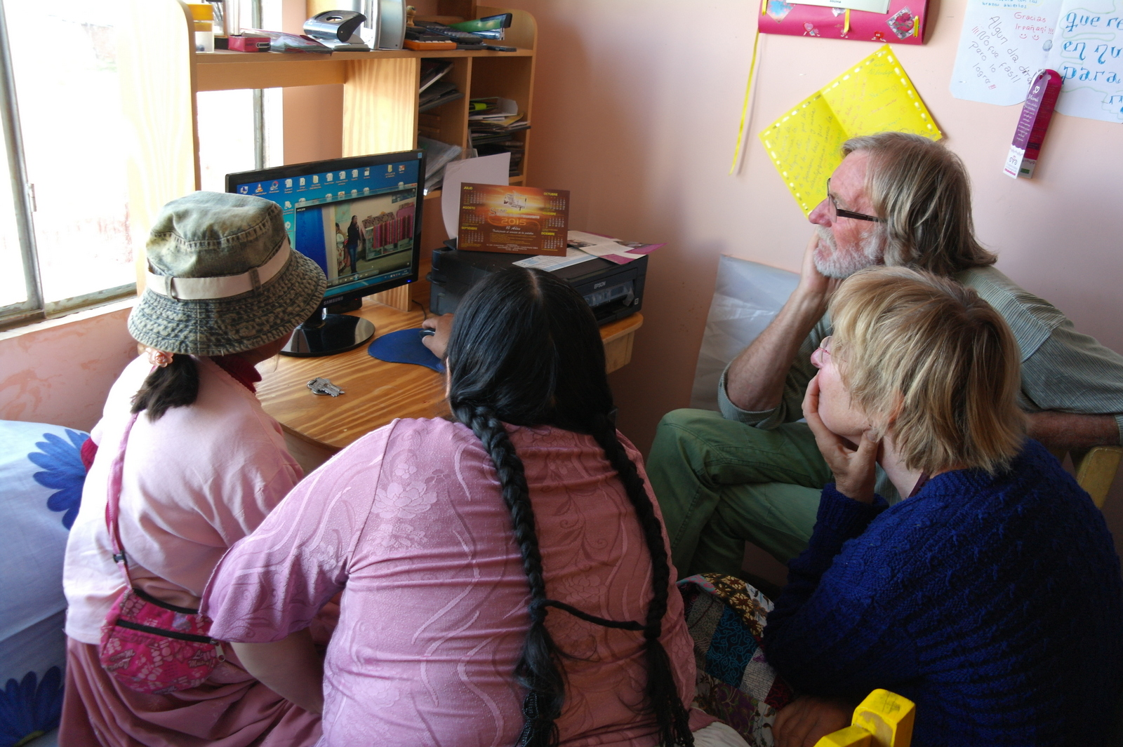 10 We praten veel uren over de kinderen in Irpanani, waarom dit project er moet zijn, en hoe te zorgen voor de continuiteit en support te vinden