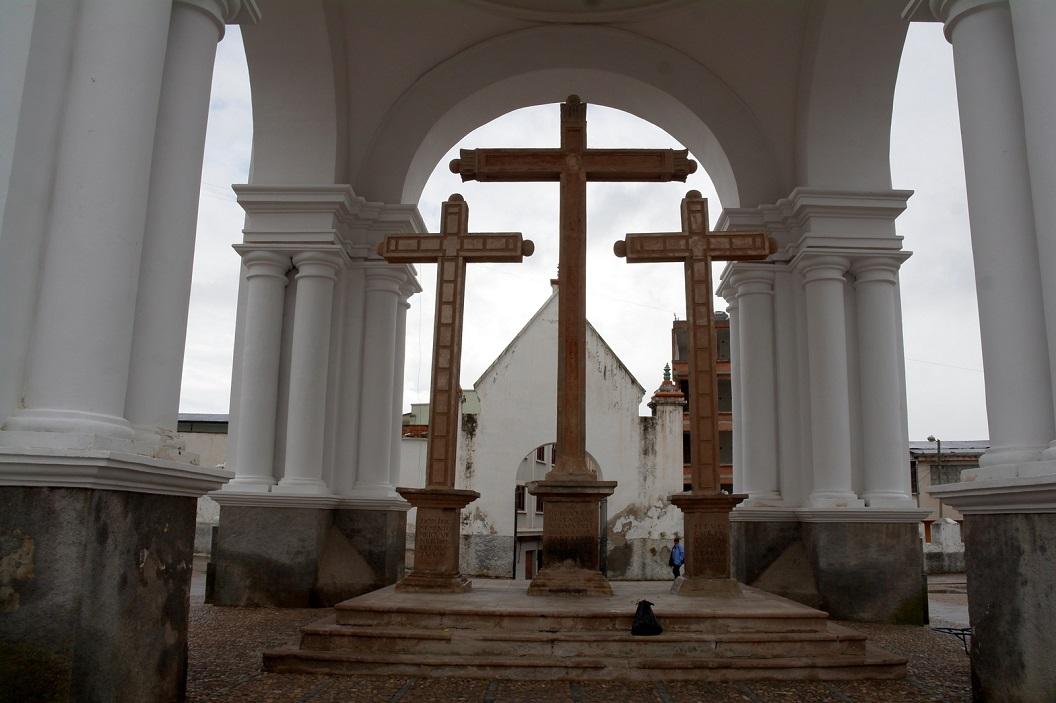 20 de bouw van de Basiliek van Onze-Lieve-Vrouw van Copacabana begon in 1668, werd ingehuldigd in 1678 en voltooid in 1805.