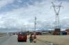 21 we rijden de voorsteden in van La Paz