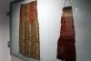 18 twee unieke Inka weefsels uit periode 1400-1535 d C. Links tunic fragment, Recht ceremonial bag for Llamas